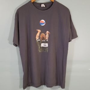 Larry bird printed t shirt sz L